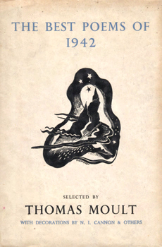 MOULT, Thomas, 1885-1974 – editor : THE BEST POEMS OF 1942.