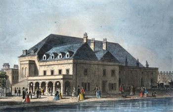 ANTIQUE PRINT: SADLER'S WELLS THEATRE.