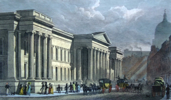 ANTIQUE PRINT: THE NEW POST OFFICE, ST. MARTIN'S LE-GRAND.