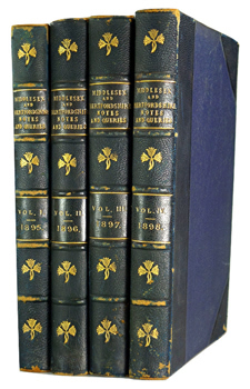 HARDY W.J. (William John), 1857-1919 – editor : MIDDLESEX & HERTFORDSHIRE NOTES AND QUERIES.