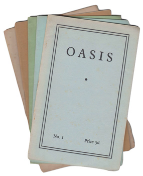 GUNN, Thom (Thomson William), 1929-2004 & OTHERS : OASIS : [ISSUES 1-5].