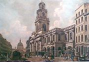 ANTIQUE PRINT: [THE ROYAL EXCHANGE].