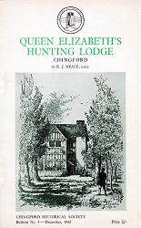 NEALE, K.J. (Kenneth James), 1922- : QUEEN ELIZABETH'S HUNTING LODGE : CHINGFORD.