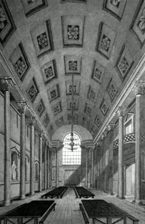 ANTIQUE PRINT: EGYPTIAN HALL, MANSION HOUSE.