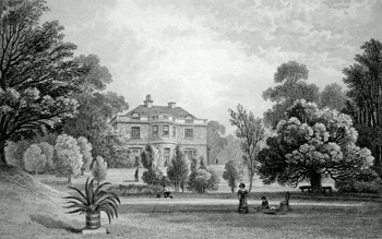 Antique print of Charlton