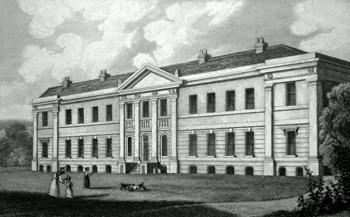 ANTIQUE PRINT: THE INFIRMARY, CHICHESTER.
