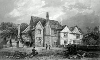Antique print of Brentwood