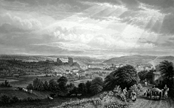 Antique print of Egremont