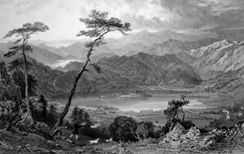 ANTIQUE PRINT: [GRASMERE] GRASSMERE FROM BUTTER CRAGS, WESTMORLAND.