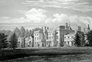 Antique print of Marston Hall, Frome