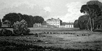 ANTIQUE PRINT: SALLE HOUSE. THE SEAT OF SIR RICHARD IODDERILL BART. NORFOLK.