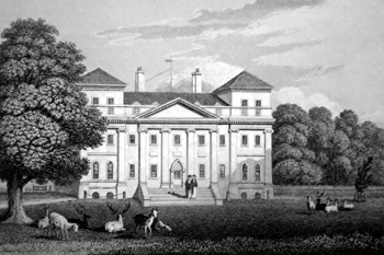 ANTIQUE PRINT : [SUTTON COLDFIELD] FOUR OAKS HALL. WARWICKSHIRE.