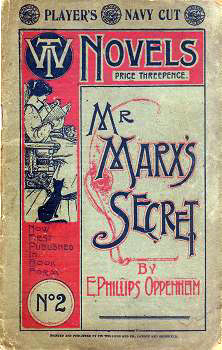 OPPENHEIM, E. Phillips (Edward Phillips), 1866-1946 : MR. MARX'S SECRET.