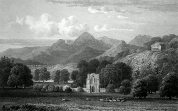 Antique print of Perth & Kinross