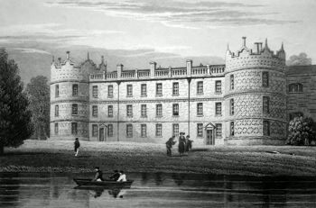 ANTIQUE PRINT: LONGFORD CASTLE, WILTSHIRE.