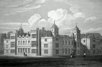 ANTIQUE PRINT: CHARLTON HOUSE, WILTSHIRE.