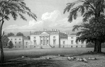 ANTIQUE PRINT: STOURHEAD. WILTSHIRE.