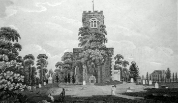 ANTIQUE PRINT: STANMORE.