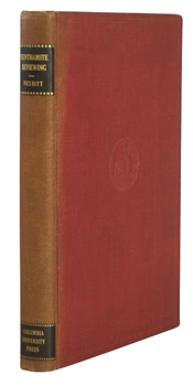 NESBITT, George L. (George Lyman), 1903-1985 : BENTHAMITE REVIEWING : THE FIRST TWELVE YEARS OF THE WESTMINSTER REVIEW 1824-1836.