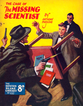 PARSONS, Anthony, 1893-1963 : THE CASE OF THE MISSING SCIENTIST.