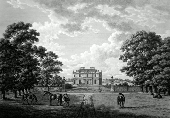 Antique print of Canons Park