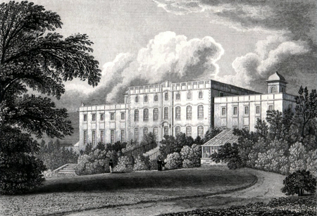 Antique print of Doncaster