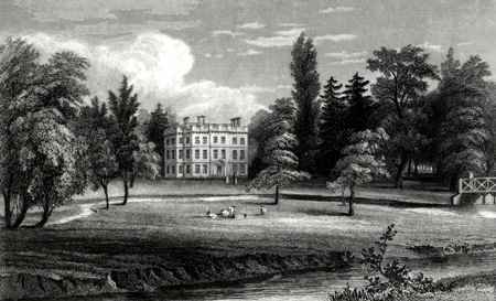 Antique print of Chelmsford