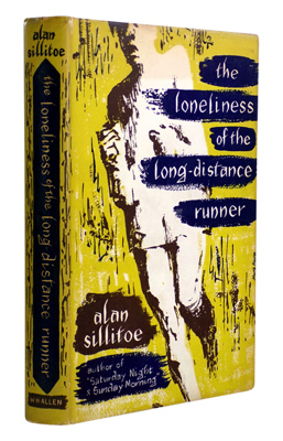 SILLITOE, Alan, 1928-2010 : THE LONELINESS OF THE LONG-DISTANCE RUNNER.