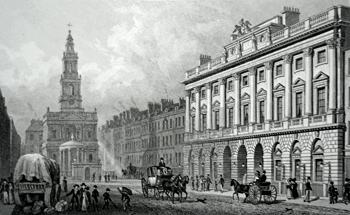 Antique print of Somerset House