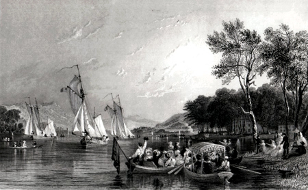 Antique print of Windermere