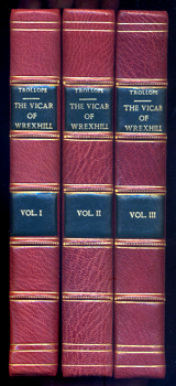 TROLLOPE, Frances, 1779-1863 : THE VICAR OF WREXHILL.