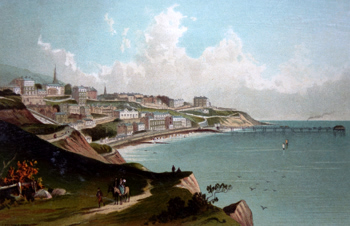 ANTIQUE PRINT: VENTNOR – ISLE OF WIGHT.