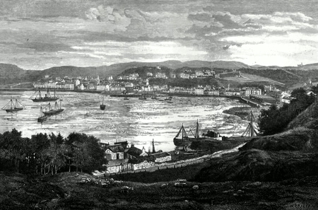 ANTIQUE PRINT: OBAN.