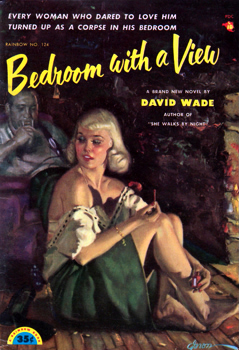 """WADE, David"" – [DANIELS, Norman Arthur, 1905-1995] :  BEDROOM WITH A VIEW."
