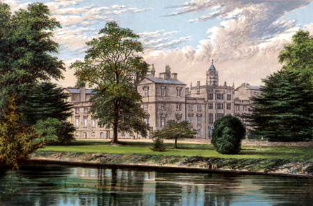 ANTIQUE PRINT: WILTON HOUSE.