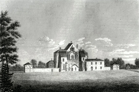ANTIQUE PRINT: BUTLEY PRIORY, NEAR ORFORD, SUFFOLK.