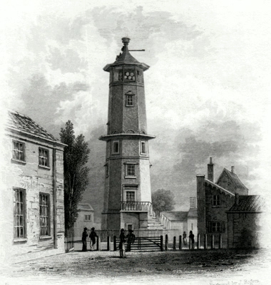 ANTIQUE PRINT: LIGHT HOUSE, HARWICH.