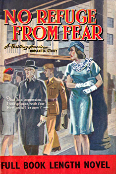 MILLER & SON LTD., L. – publishers : [COVER TITLE] NO REFUGE FROM FEAR.