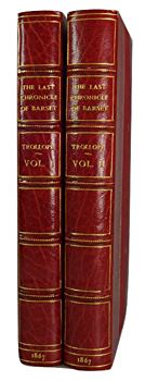 TROLLOPE, Anthony, 1815-1882 : THE LAST CHRONICLE OF BARSET.