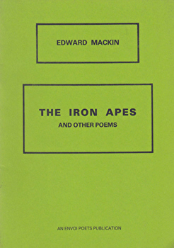 MACKIN, Edward : THE IRON APES AND OTHER POEMS.
