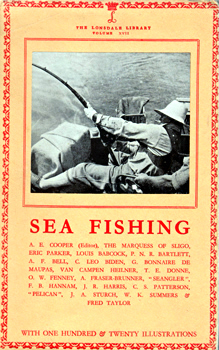 COOPER, A.E. (Austin Eric Sisson), 1899-1982 – editor : SEA FISHING.