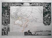 ANTIQUE MAP : [MAP OF AUSTRALASIA AND THE SOUTH PACIFIC] OCÉANIE.