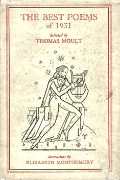 MOULT, Thomas, 1885-1974 – editor : THE BEST POEMS OF 1931.