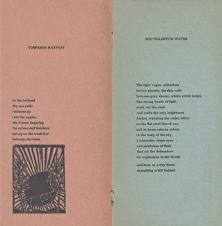 COTTON, John, 1925-2003 : OUTSIDE THE GATES OF EDEN & OTHER POEMS.