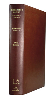 THORNTON, John L. (John Leonard), 1913-1992 & TULLY, R.I.J. (Robert Ian James) : SCIENTIFIC BOOKS, LIBRARIES AND COLLECTORS : A STUDY OF BIBLIOGRAPHY AND THE BOOK TRADE IN RELATION TO SCIENCE.