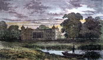 ANTIQUE PRINT: OSTERLEY PARK.