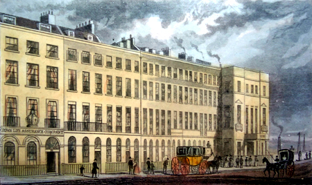 ANTIQUE PRINT: NEW BRIDGE STREET, BLACKFRIARS, LONDON.