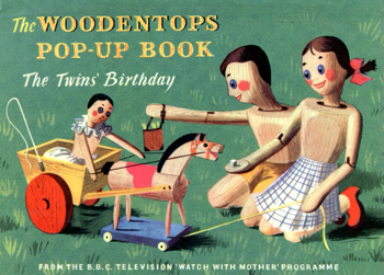 THE TWINS' BIRTHDAY : A WOODENTOP STORY BY MARIA BIRD. ILLUSTRATED BY BARBARA JONES.