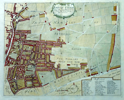 ANTIQUE MAPS OF PARTS OF LONDON AT ASH RARE BOOKS on
