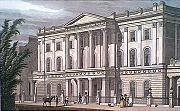 ANTIQUE PRINT: THE LONDON INSTITUTION, FINSBURY CIRCUS.
